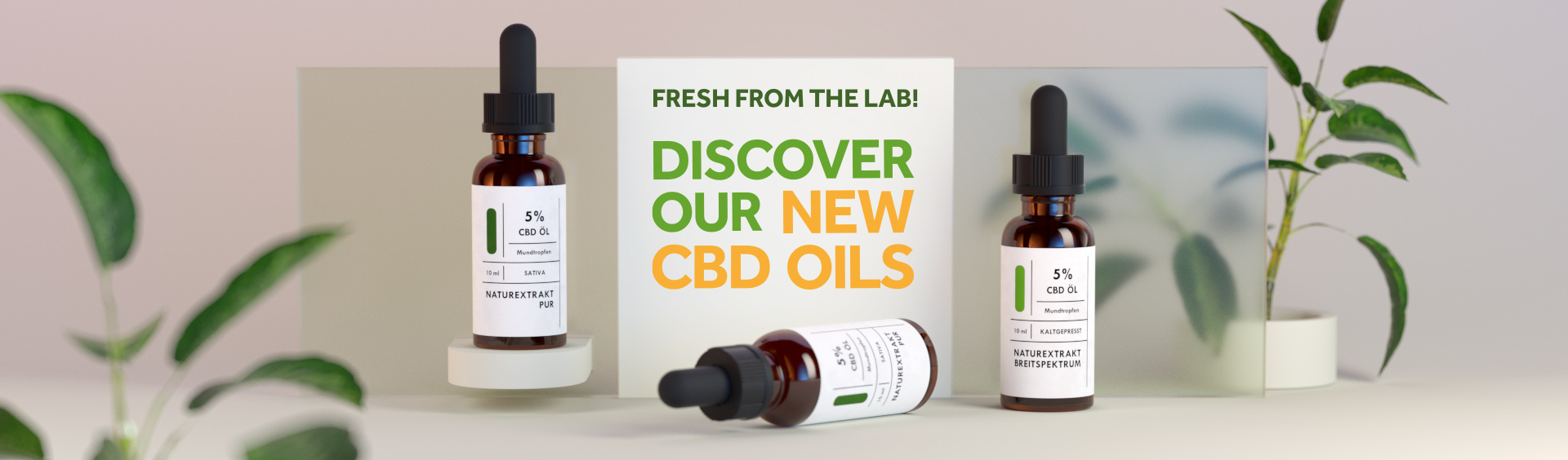 New CBD Oils