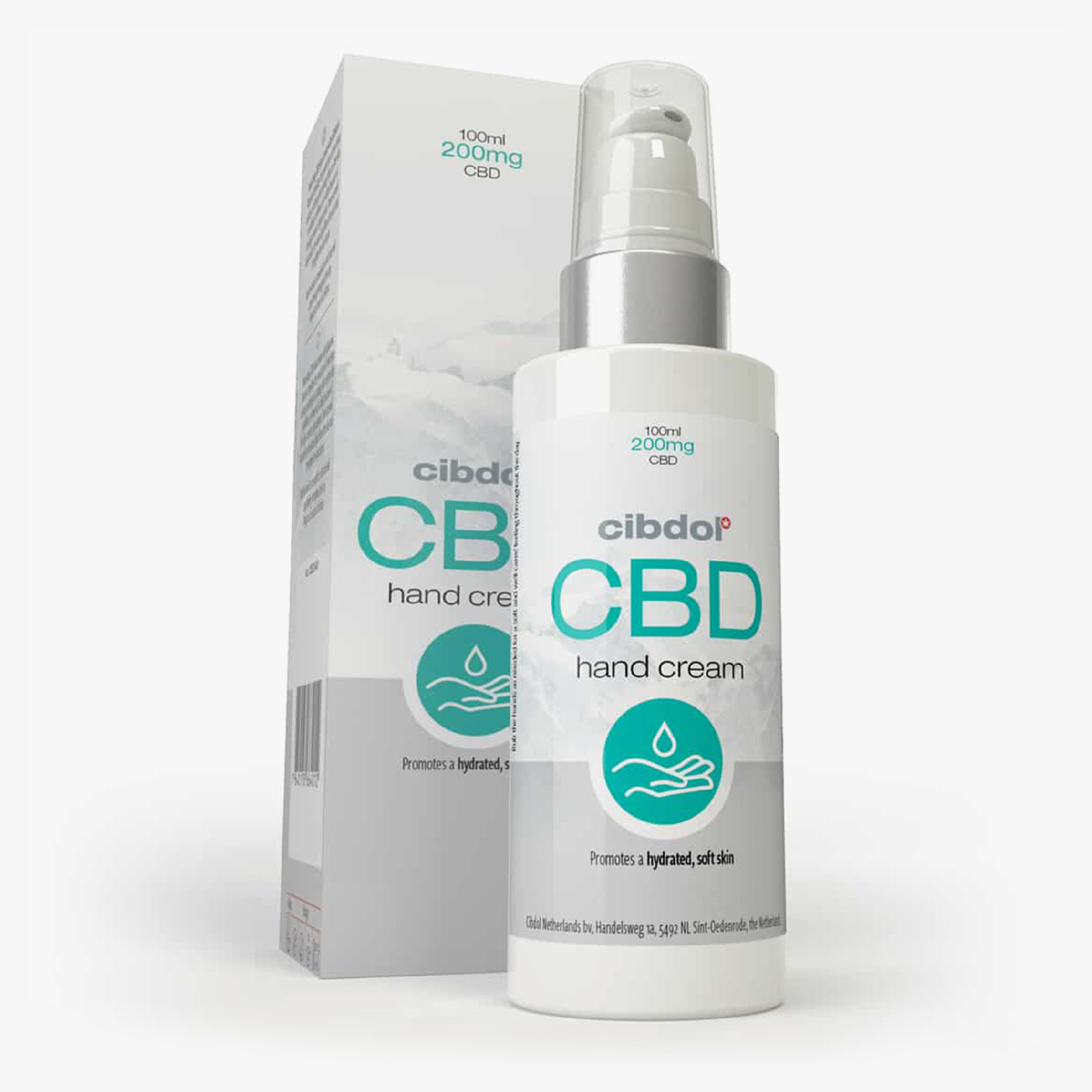 CIBDOL CBD Hand Cream - 100ml | New Garden Lab