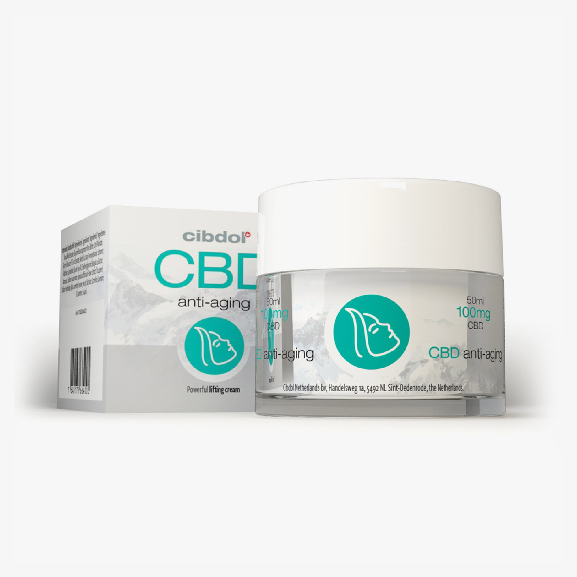 CIBDOL CBD Anti-Aging Cream - 100ml | New Garden Lab